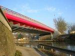 Pont sur le canal du Nord à Péronne (80)