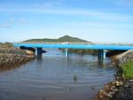 Pont sur la Gouloué à Mayotte